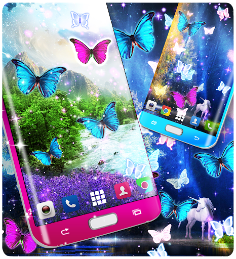 Magical forest live wallpaper screenshot 4