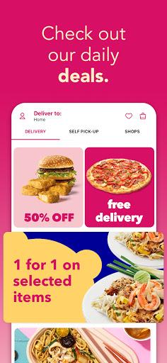 foodpanda - Local Food & Grocery Delivery screenshot 2