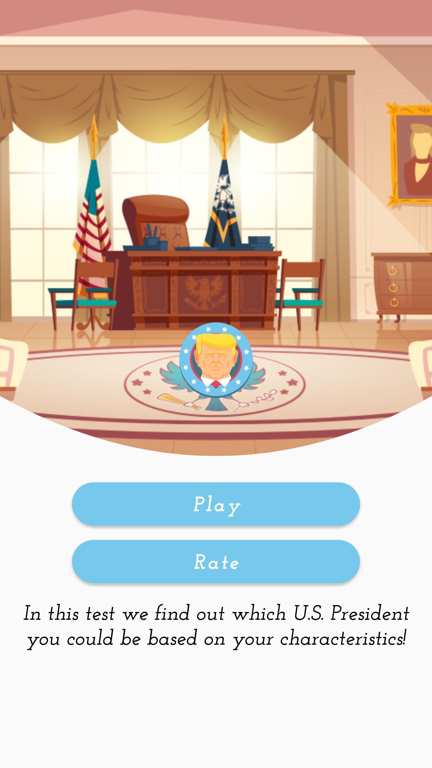 Which U.S. President Are You? - Personality Test screenshot 1