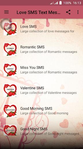 Love SMS Text Messages screenshot 1