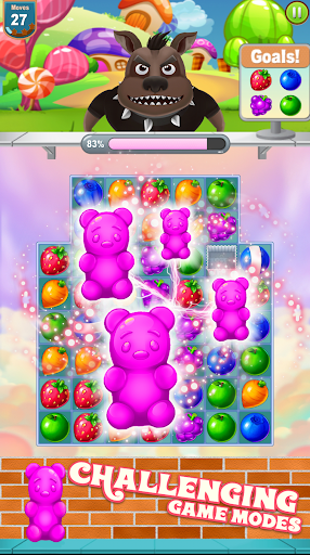 Candy Bears games screenshot 1