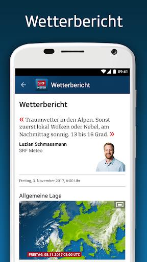 SRF Meteo - Wetter Prognose Schweiz screenshot 6