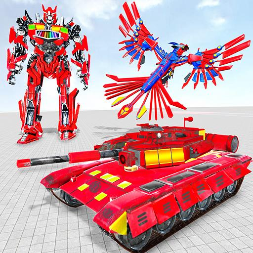 Tank Robot Game 2020 - Eagle Robot Car Games 3D icon