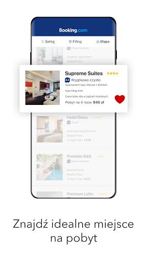 Booking.com Rezerwacja Hoteli screenshot 1