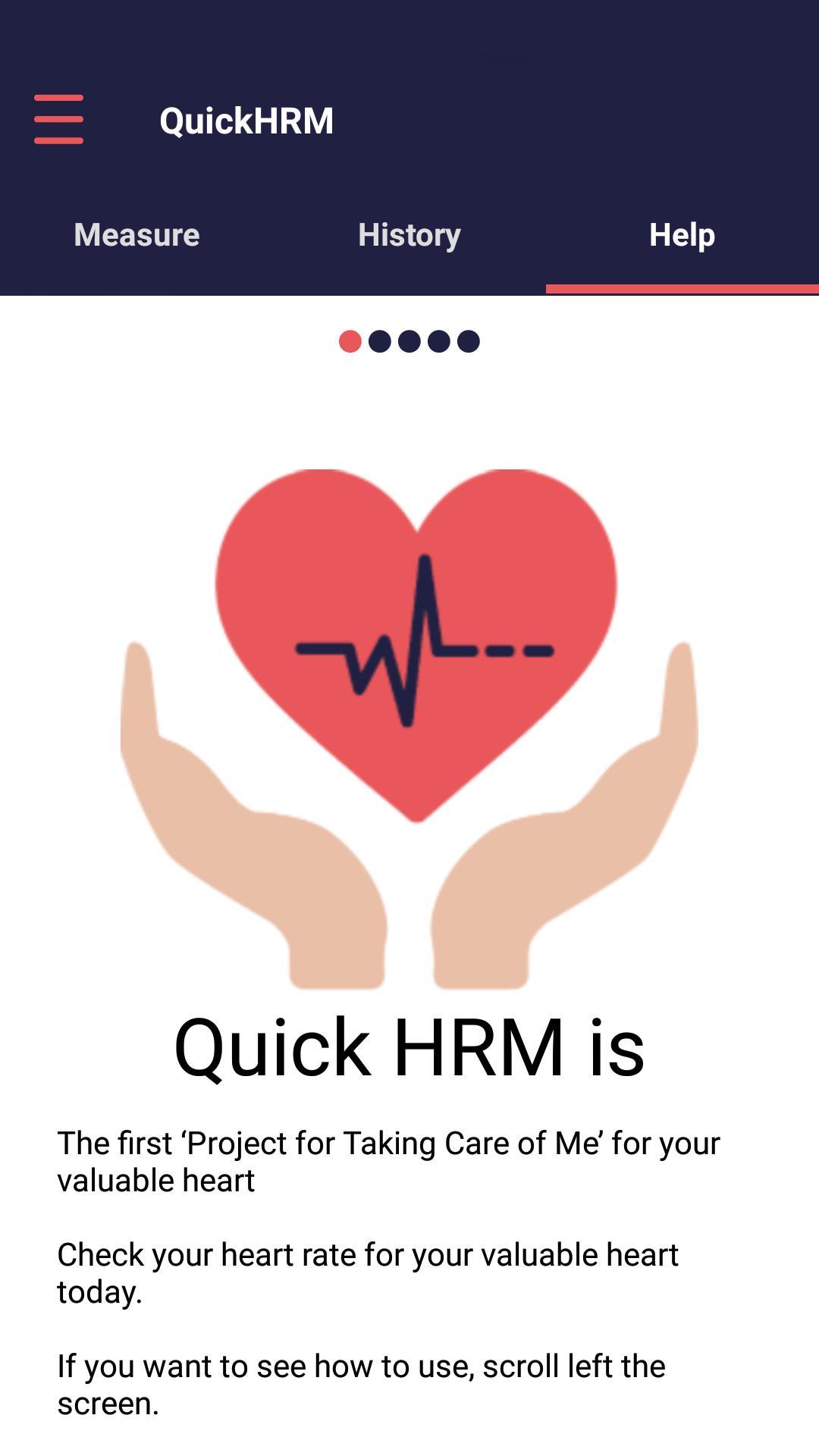 Quick Heart Rate Monitor 4 تصوير الشاشة