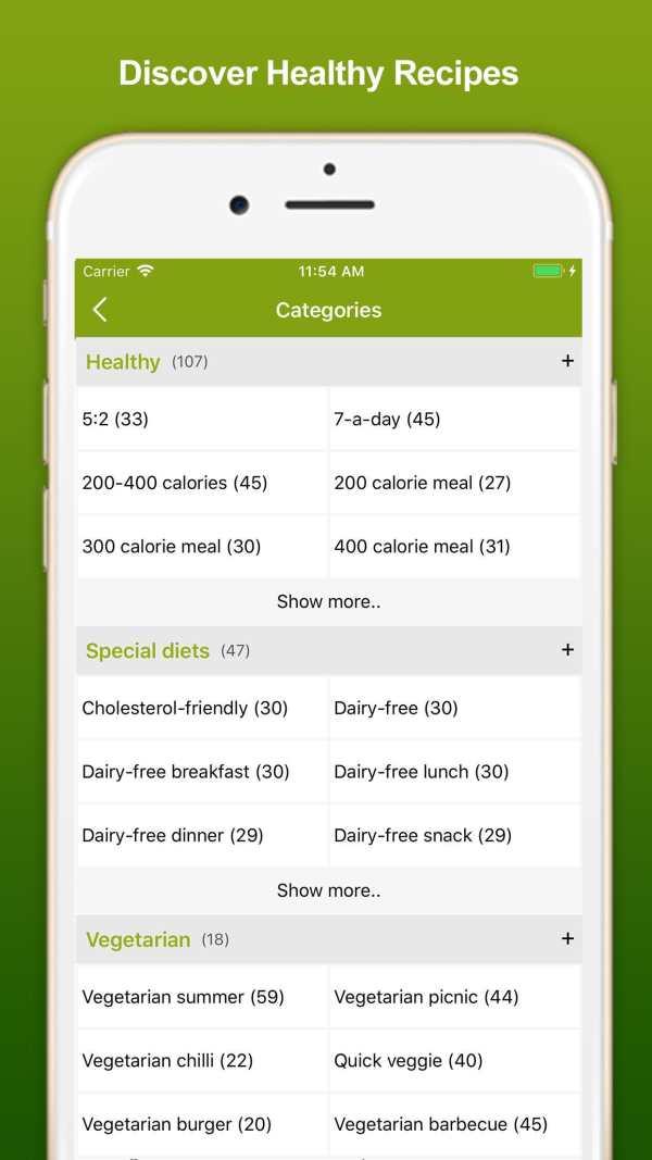 Healthy Eating Recipes screenshot 6