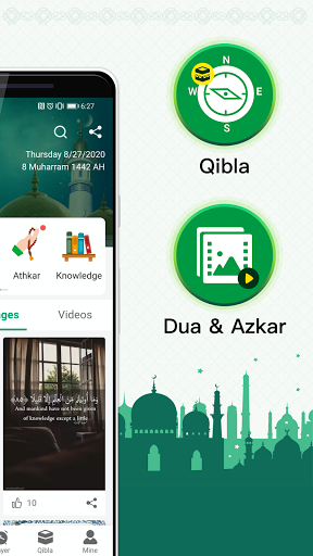 Muslim Prayer Times, Azan, Quran&Qibla By Vmuslim screenshot 2