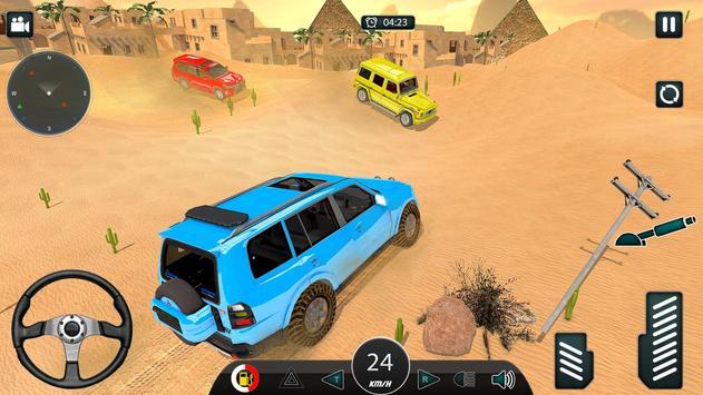 Luxury LX Prado Desert Driving screenshot 11