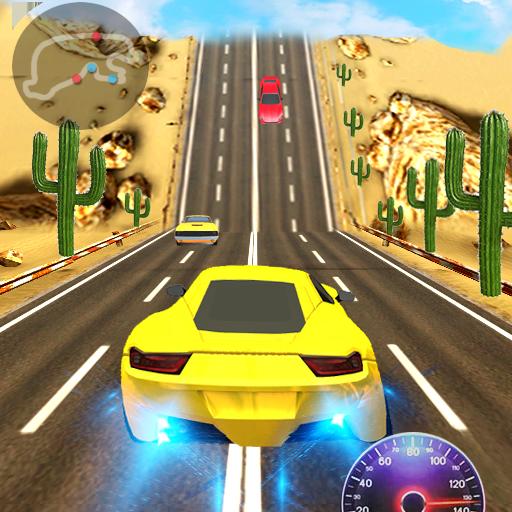 Racing In Car 3D أيقونة