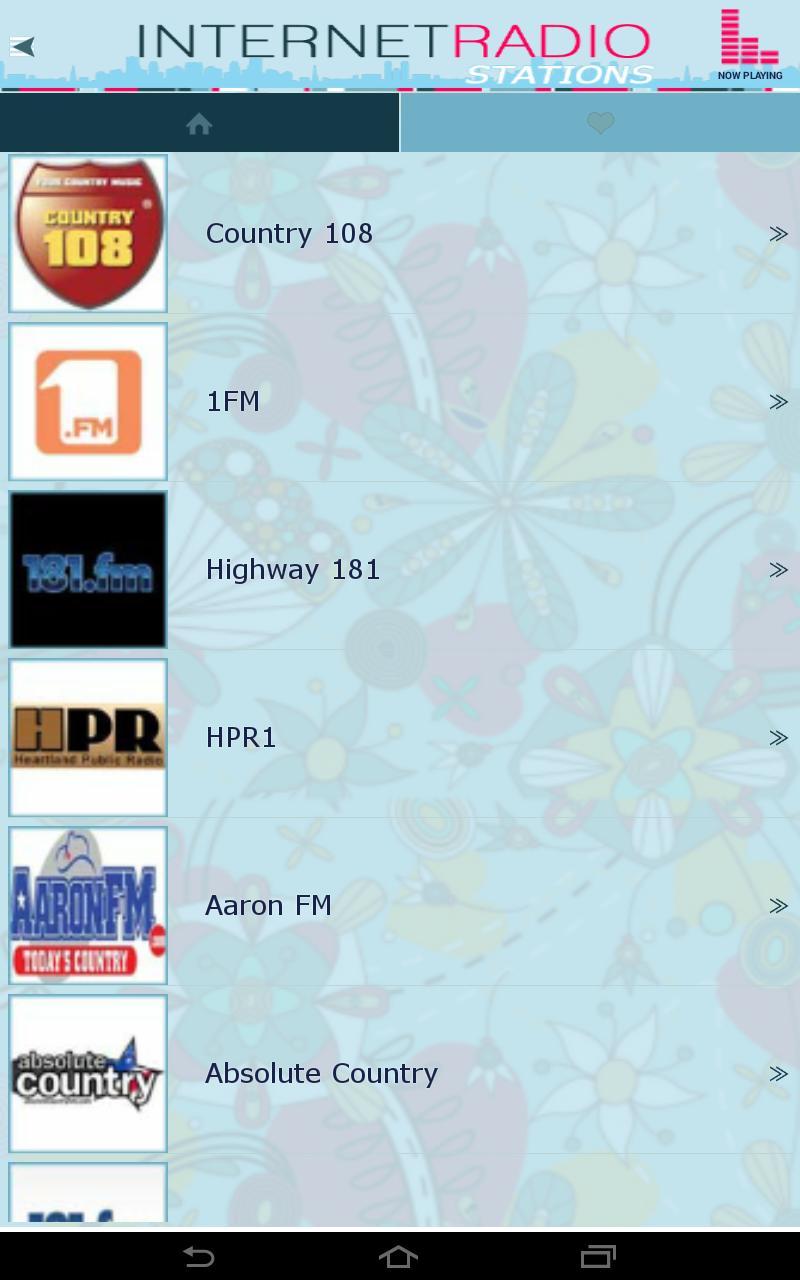 Internet Radio Stations screenshot 9