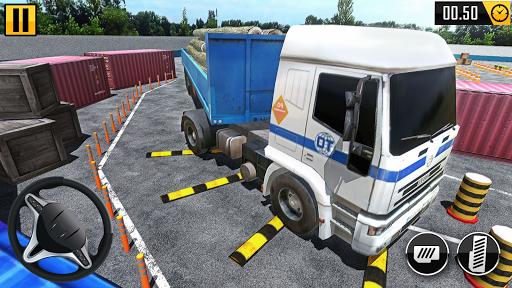 Big Truck Parking Simulation - Truck Games 2021 screenshot 1