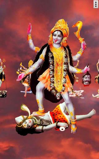 4D Maa Kali Live Wallpaper 4 تصوير الشاشة