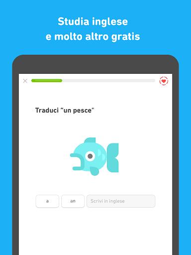 Impara l'inglese con Duolingo screenshot 8