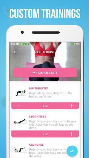 Abs Workout 3 تصوير الشاشة