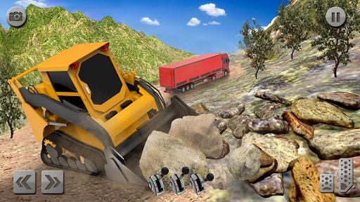 Sand Excavator Simulator 2021: Truck Driving Games screenshot 4
