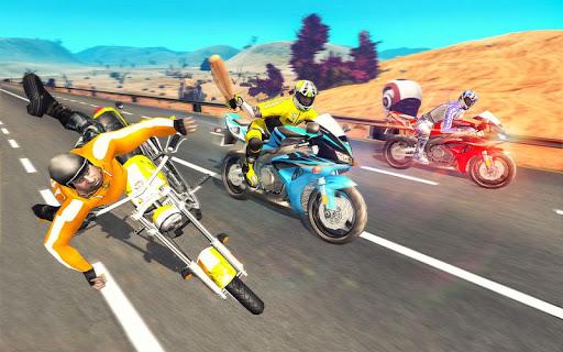 Bike Attack Race : Highway Tricky Stunt Rider screenshot 4