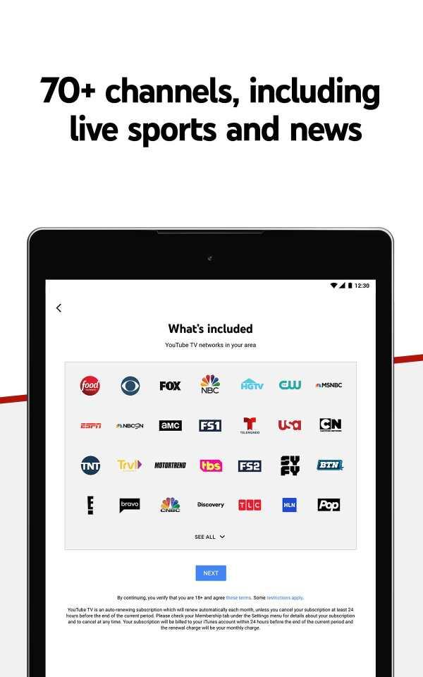 YouTube TV - Watch & Record Live TV screenshot 12