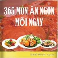 Sách Nấu Ăn - 365 món ăn ngon mỗi ngày offline on 9Apps