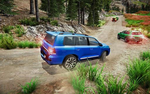 Offroad Prado Car 4X4 Mountain Drift Drive 3D screenshot 5