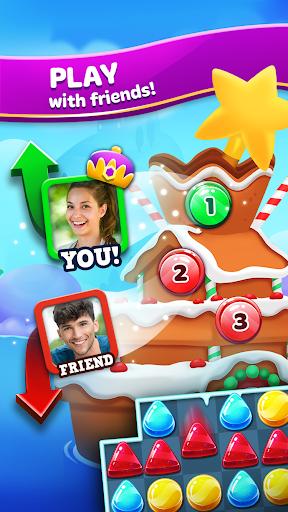 Frozen Frenzy Mania – Match 3 4 تصوير الشاشة