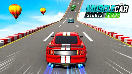 Muscle Car Stunts 2020: Mega Ramp Stunt Car Games screenshot 1