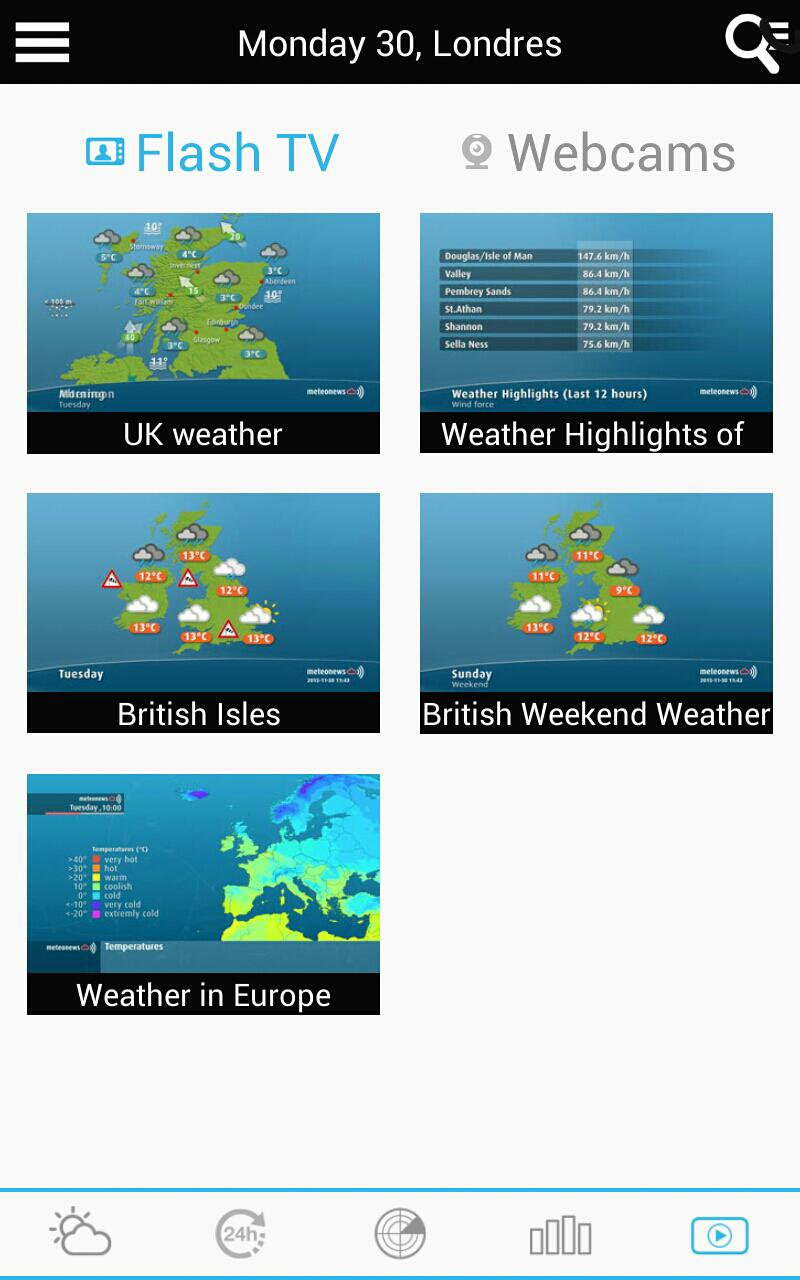 Weather for the Netherlands 15 تصوير الشاشة
