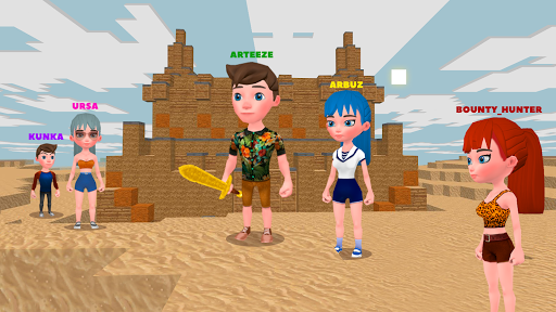 JurassicCraft: Free Block Build & Survival Craft screenshot 8