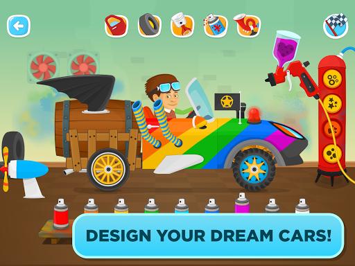 Garage Master - fun car game for kids & toddlers screenshot 8