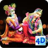 4D Radha Krishna Live Wallpaper on 9Apps