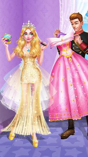 👸👗Sleeping Beauty Makeover - Date Dress Up 4 تصوير الشاشة