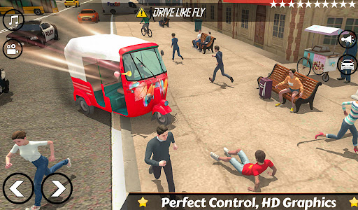 Mountain Auto Tuk Tuk Rickshaw Novos Jogos de 2020 screenshot 2