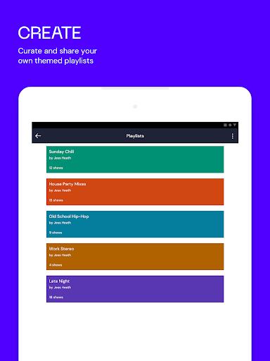 Mixcloud - Gabungan Radio & DJ screenshot 8