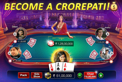 Teen Patti Gold - 3 Patti & Rummy & Poker screenshot 1