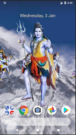 4D Shiva Live Wallpaper 2 تصوير الشاشة