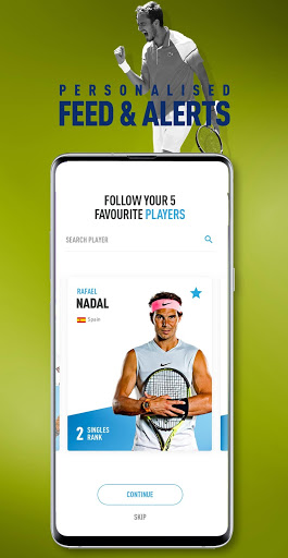 ATP Tour 3 تصوير الشاشة