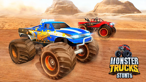 Monster Truck Ramp Stunts OffRoad Car Racing Game screenshot 5