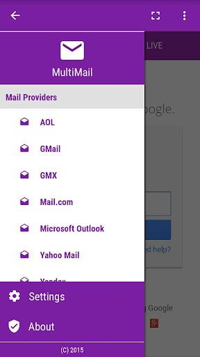 Multi Mail 1 تصوير الشاشة