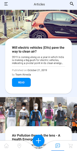 Airveda - Air Quality & Asthma Tracker screenshot 4
