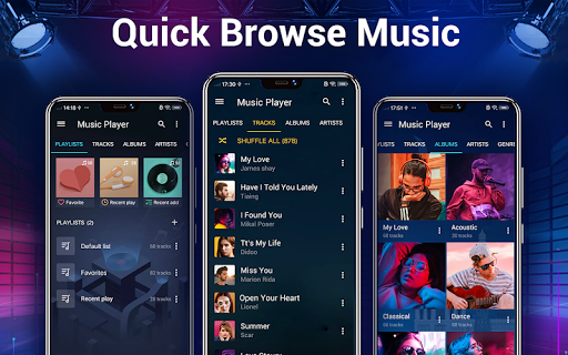 Music Player - Bass Booster & Free Music screenshot 10