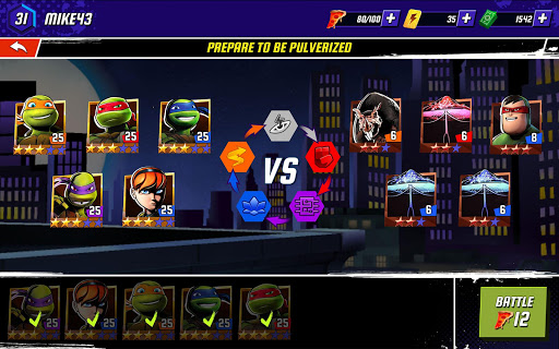 Ninja Turtles: Legends 7 تصوير الشاشة
