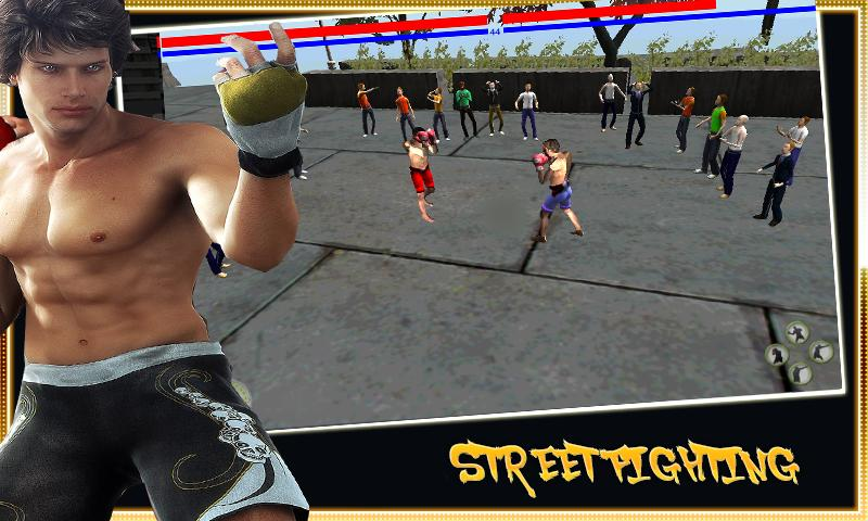 Street Fighting - Boxing 2016 1 تصوير الشاشة