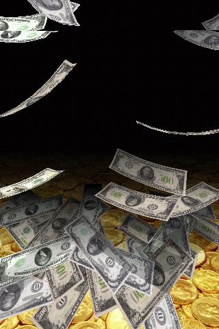 Falling Money 3D Live Wallpaper 6 تصوير الشاشة