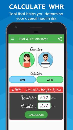 BMI Calculator & WHR Ratio 6 تصوير الشاشة