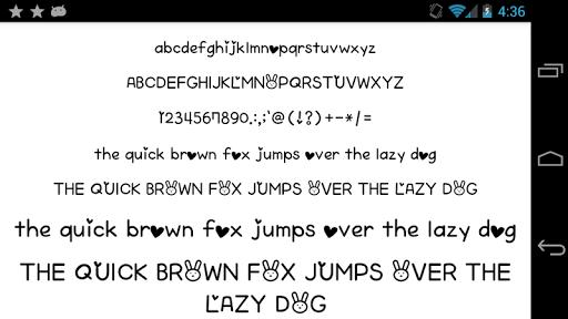 Fonts for FlipFont 50 Written screenshot 1