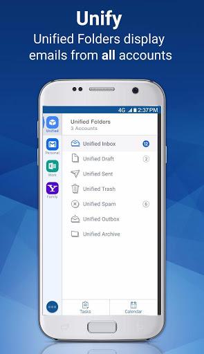 Email Blue Mail - Calendar & Tasks screenshot 5