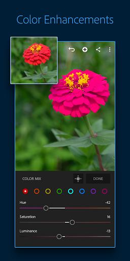 Adobe Lightroom - Photo Editor & Pro Camera 3 تصوير الشاشة