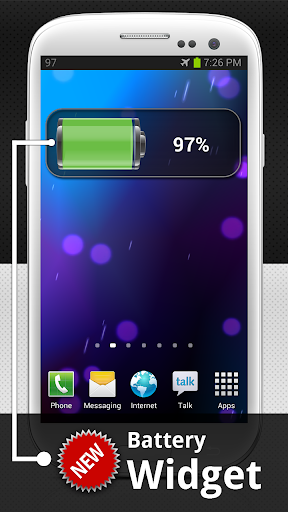 Show Battery Percentage 6 تصوير الشاشة