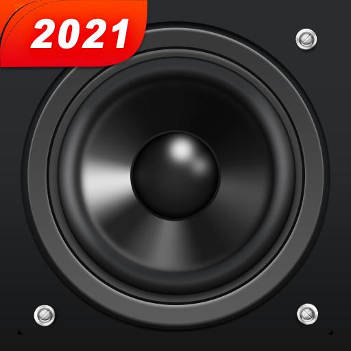 ikon Equaliser musik & Penguat bass