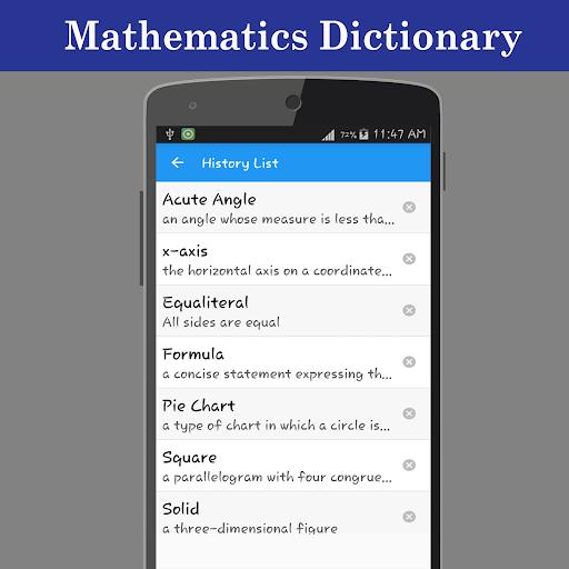 Mathematics Dictionary screenshot 4