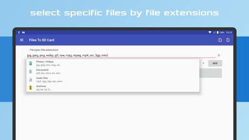 Files To SD Card screenshot 16